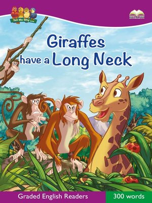 cover image of Giraffes Have A Long Neck
