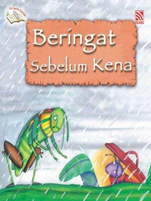 cover image of Beringat Sebelum Kena