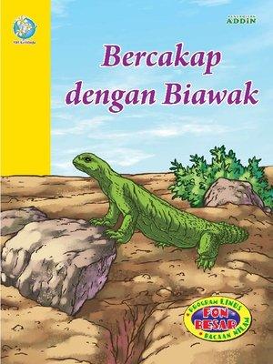 cover image of Bercakap dengan Biawak