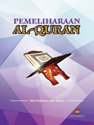 cover image of Pemeliharaan Al-Quran
