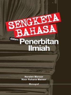 cover image of Sengketa Bahasa dalam Penerbitan Ilmiah