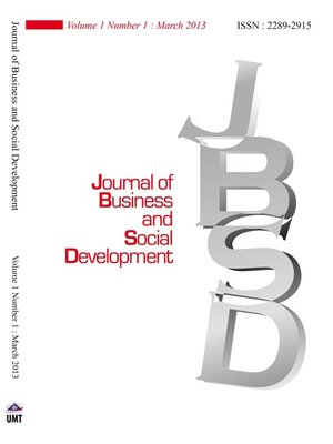 cover image of Journal of Business and Social Development (JBSD) Vol.1 No.1
