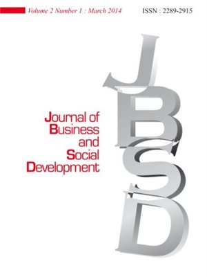 cover image of Journal of Business and Social Development (JBSD) Vol.2 No.1