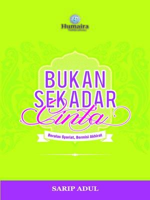 cover image of Bukan Sekadar Cinta (Hijau)