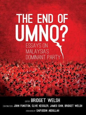 cover image of The End of UMNO?