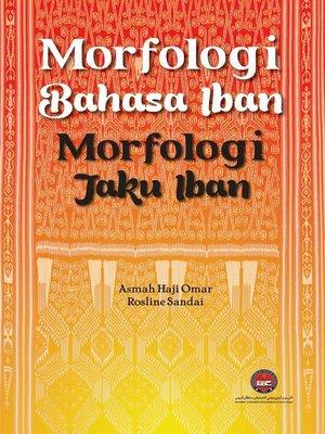 cover image of Morfologi Bahasa Iban