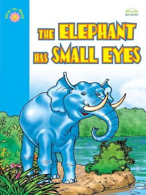 cover image of The Elephant Has Small Eyes