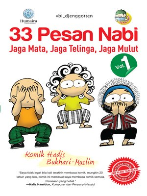 cover image of 33 Pesan Nabi, Volume 1