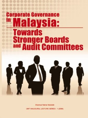 cover image of Corporate Governance in Malaysia