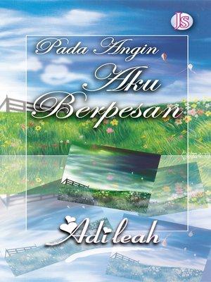 cover image of Pada Angin Aku Berpesan
