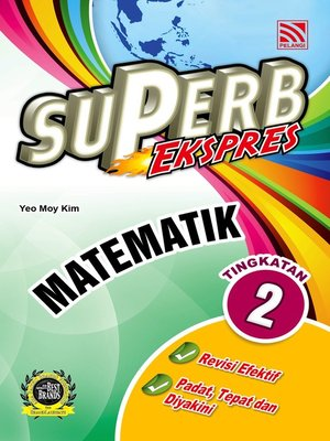 cover image of Superb Ekspres Matematik Tingkatan 2