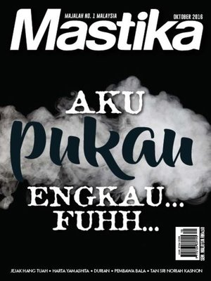 cover image of Mastika, Oktober 2016
