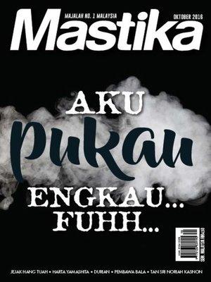 cover image of Mastika, Oktober 2016