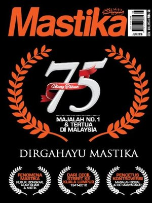 cover image of Mastika, Jun 2016