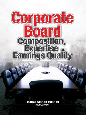 cover image of Corporate Board Composition, Expertise and Earnings Quality