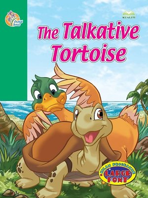 cover image of The Talkative Tortoise