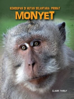 cover image of Kehidupan di Hutan Belantara: Primat - MONYET