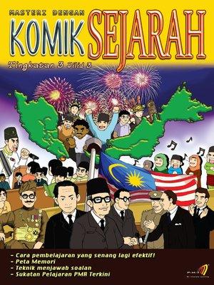 cover image of Masteri Dengan Komik Sejarah Tingkatan 3 Jilid 3
