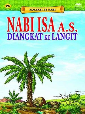 cover image of NabiIsaa.s.DiangkatkeLangit