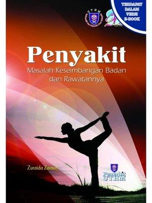 cover image of Penyakit: Masalah Keseimbangan Badan dan Rawatannya