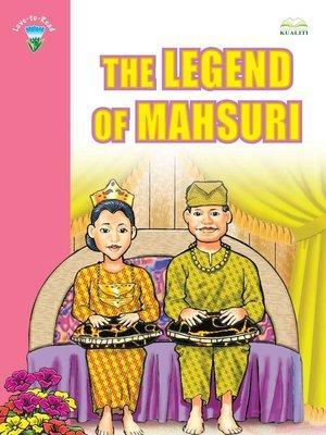 cover image of The Legend Of Mahsuri