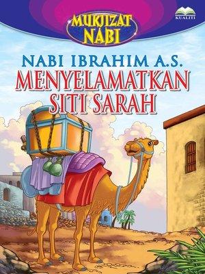 cover image of Nabi Ibrahim a.s. Menyelamatkan Siti Sarah