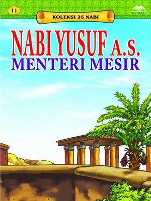 cover image of NabiYusufa.s.MenteriMesir