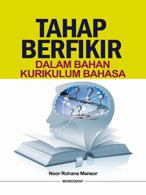 cover image of Tahap Berfikir dalam Bahan Kurikulum bahasa
