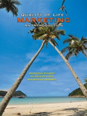 cover image of Quality of Life - Marketing an Introduction