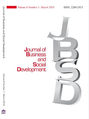 cover image of Journal of Business and Social Development Vol. 6 No. 1 March 2018