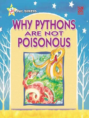 cover image of Why Pythons ARe Not Poisonous