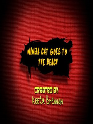cover image of Ninja Cat Goes to the Beach