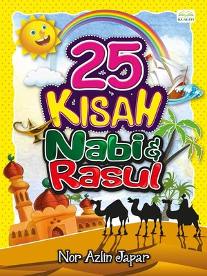 cover image of 25 KISAH NABI & RASUL
