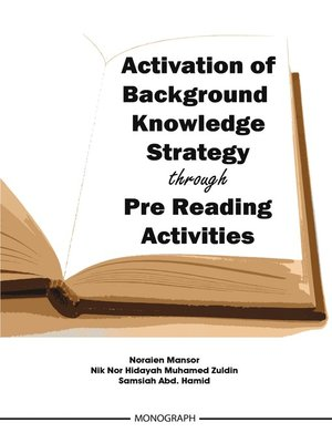 cover image of Activation of Background Knowledge Strategy through Pre Reading Activities