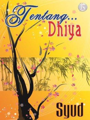 cover image of Tentang Dhiya