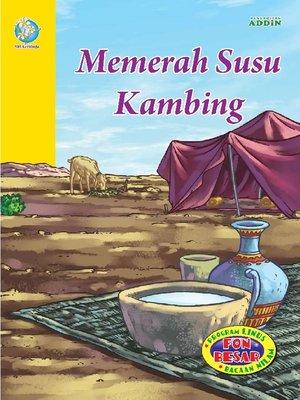 cover image of Memerah Susu Kambing