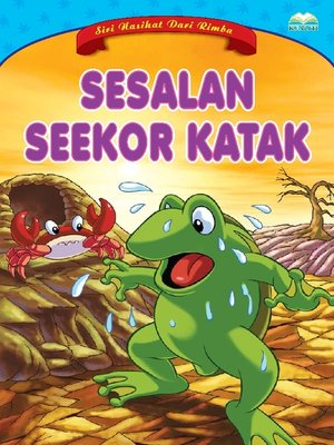 cover image of Sesalan Seekor Katak