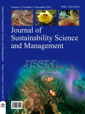 cover image of Journal of Sustainability Science and Management Vol.12 No.2 December 2017
