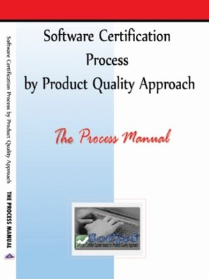 cover image of Software Certification Process by Product Quality Approach