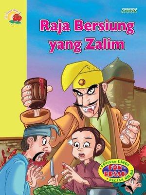 cover image of Raja Bersiung yang Zalim