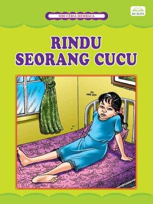 cover image of Rindu Seorang Cucu