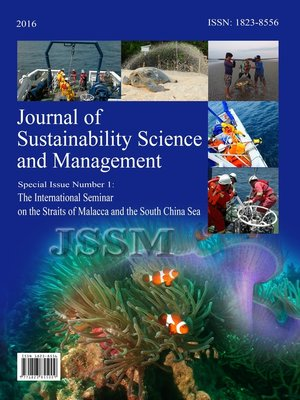 cover image of Journal of Sustainability Science and Management (JSSM) Special Issue, No.1