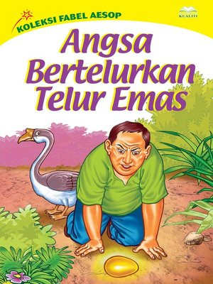 cover image of Angsa Bertelurkan Telur Emas