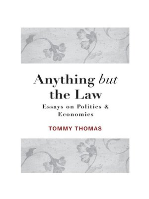 cover image of Anything but the Law