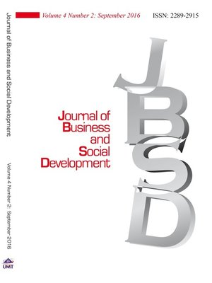 cover image of Journal of Business and Social Development (JBSD) Vol.4 No.2