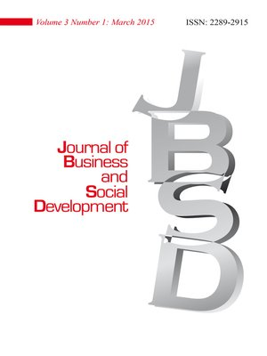 cover image of Journal of Business and Social Development (JBSD) Vol.3 No.1