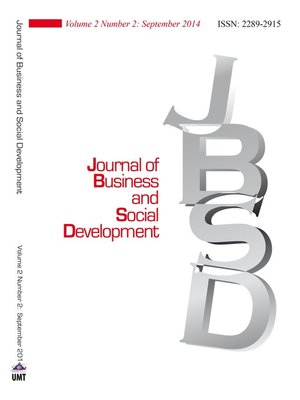cover image of Journal of Business and Social Development (JBSD) Vol.2 No.2