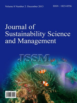 cover image of Journal of Sustainability Science and Management (JSSM) Vol.8, No.2