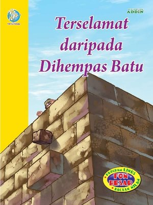 cover image of Terselamat daripada Dihempas Batu