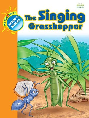 cover image of The Singing Grasshopper